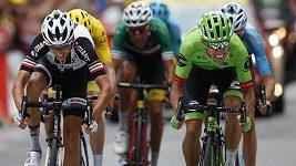 Dojezd 9. etapy Tour de France