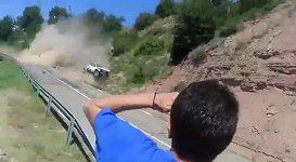 Děsivá havárie na Rallye v Katalánsku