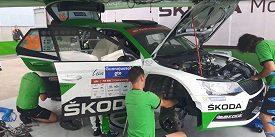 Bez nich by to nešlo: Mechanici týmu ŠKODA Motorsport