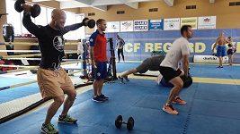 Příprava na MMA s hokejisty