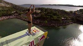 Michal Navrátil - skoky do vody