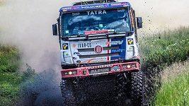 Martin Kolomý s tatrou vyhrál čtvrtou etapu Rallye Hedvábná stezka