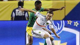 Sestřih duelu Mexiko - Jamajka