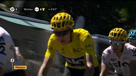 Sestřih 15. etapy Tour de France