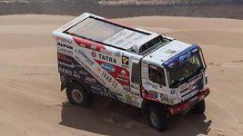 Sestřih vybraných automobilů v 10. etapě Rallye Hedvábná stezka