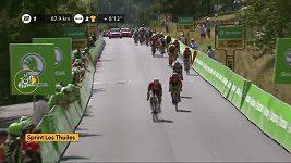Sestřih 18. etapy Tour de France