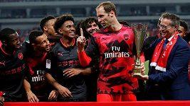 Sestřih z utkání Arsenal - Bayern