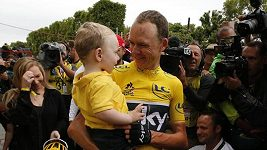 Finiš poslední etapy Tour de France