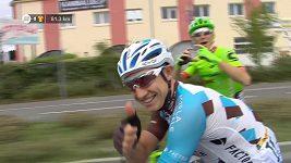Cyril Gautier požádal během poslední etapy Tour přítelkyni o ruku