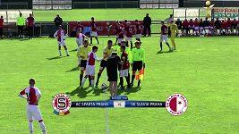 Sparťanská devatenáctka porazila Slavii 3:0 a na CEE Cupu končí pátá.