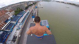 Michal Navrátil při tréninku na MS v Budapešti I