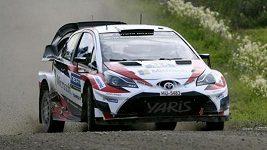 Lappi vyhrál Finskou rallye