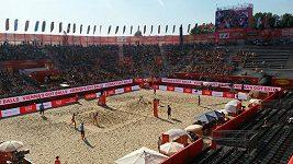 Atmosféra na MS v plážovém volejbalu