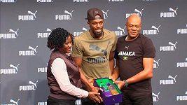 Usain Bolt ukázal nové boty na londýnské finále