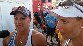 Barbora Hermannová komentuje výhru nad Brazilkami