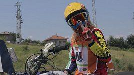 První Češka na čtyřkolce pojede Dakar