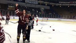 Bitka hokejistů Sparty se Salcburkem