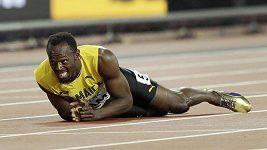 Trpké loučení Usaina Bolta