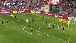 Černý nahrál na dva góly Ajaxu