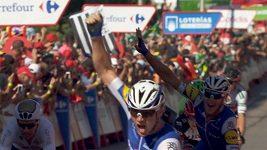 Druhou etapu Vuelty vyhrál Lampaert