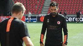 Slavia před odvetou s APOEL Nikosie