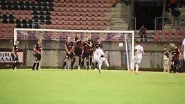 Nejhorší postavená zeď ve fotbale