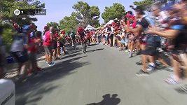 Froome zvýšil náskok v čele Vuelty, osmou etapu vyhrál Alaphilippe