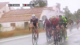Sestřih 11. etapy cyklistické Vuelty