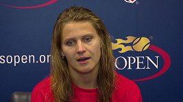 Lucie Šafářová je s vystoupením na letošním US Open docela spokojená