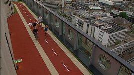 Na střeše londýnského mrakodrapu vyrostla běžecká dráha