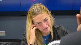 Petra Kvitová po vyřazení z US Open