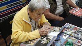 Dana Zátopková brzy oslaví 95. narozeniny
