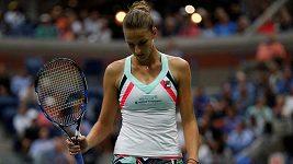 Karolína Plíšková po vyřazení na US Open