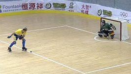 Hokejisté na kolečkách bojují na mistrovství světa