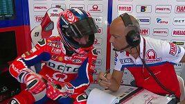 Trénink MotoGP na GP San Marina
