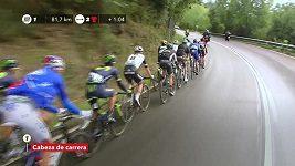 Sestřih 20. etapy cyklistické Vuelty
