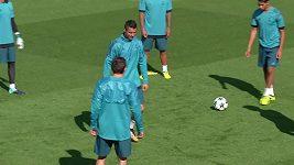 Fotbalisté Realu Madrid před vstupem do Ligy mistrů