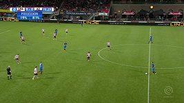 Sparta Rotterdam prohrála s týmem AZ Alkmaar, i když gólman chytil dvě penalty