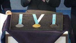 Jižní Korea ukázala olympijské medaile