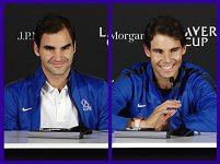 Federer s Nadalem spolu poprvé nastoupí do čtyřhry