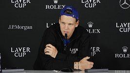 Berdych přiznává: Moje výsledky mi dojem z Laver Cupu trochu kazí