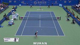 Karolína Plíšková vypadla ve Wu-chanu v semifinále