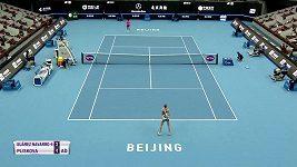 Vítězný vstup Karolíny Plíškové do turnaje v Pekingu