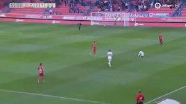 Vlastní gól ve druhé španělské lize