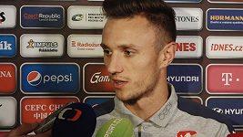 Nováček ve fotbalové reprezentaci Šimon Falta