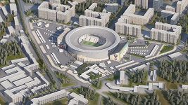 Stadión v Jekatěrinburgu pro MS ve fotbale 2018