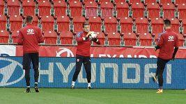 Trenér Jarolím chystá na San Marino změny v sestavě