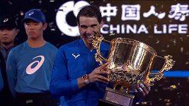 Rafael Nadal triumfoval v Pekingu