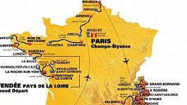 Trasa Tour de France 2018