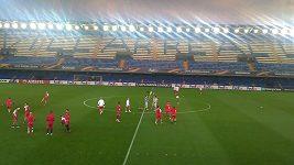 Sestřih tréninku fotbalistů Slavie ve Villarrealu